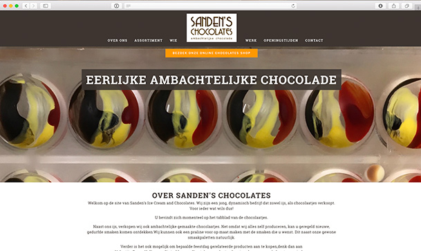 Sandens chocolates & Icecream